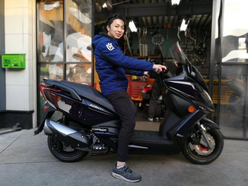 kymco g-dink250i 足つきのサムネール画像